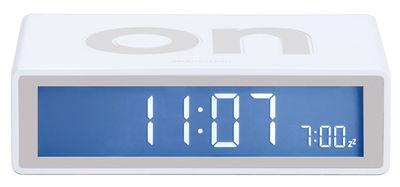 Accessoires - Réveils et radios - Réveil Flip LCD - Lexon - Blanc - ABS, Gomme