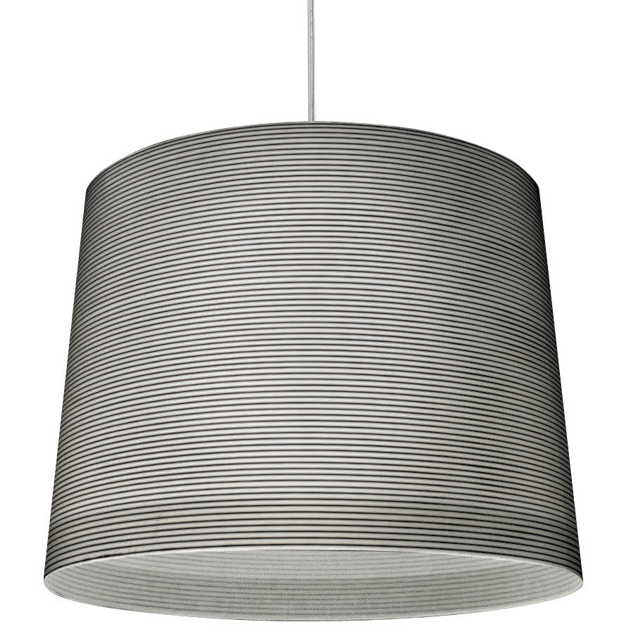 Illuminazione - Lampadari - Sospensione Giga-Lite di Foscarini - Nero - Carbonio, Fibra di vetro
