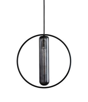 Suspension Astrée / Ø 36 cm - Hartô noir en métal/verre