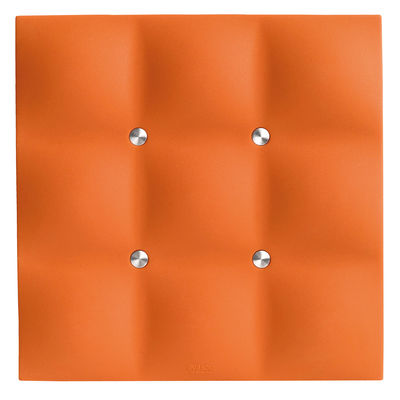 Tableware - Table Mats & Trivets - Tablemat by Eva Solo - Juicy orange - Silicone, Stainless steel