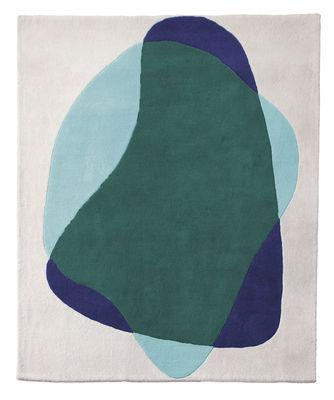 Serge Teppich / 220 x 180 cm - Hartô - Blau,Grün