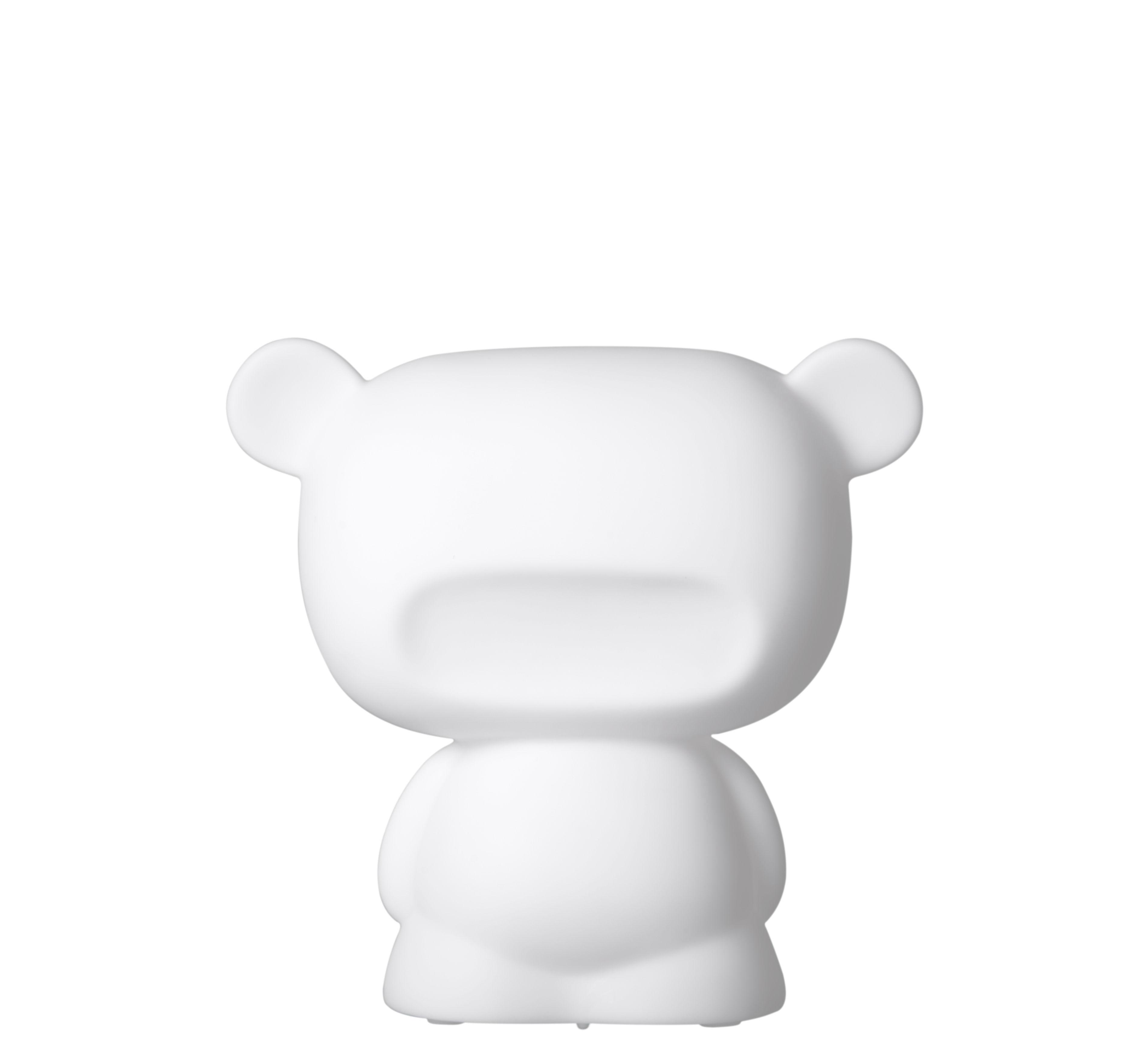 Déco - Pour les enfants - Veilleuse Baby Pure H 14 cm / LED - Slide - Blanc - Polyéthylène