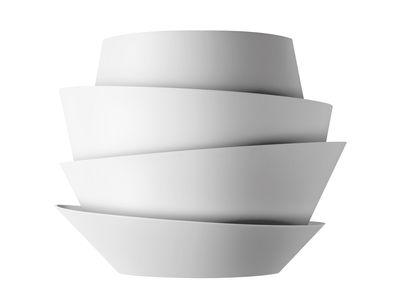 Illuminazione - Lampade da parete - Applique Le Soleil di Foscarini - Bianco - policarbonato