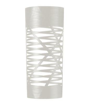 Applique Tress / H 59 cm - Foscarini blanc en matière plastique