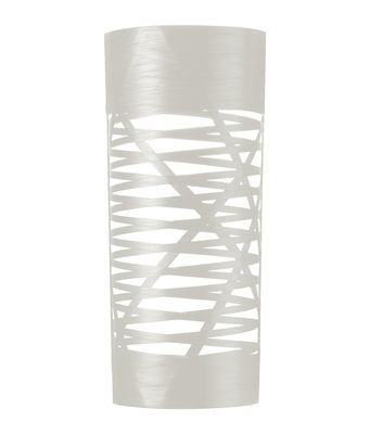 Luminaire - Appliques - Applique Tress / H 59 cm - Foscarini - Blanc - Fibre de verre, Matériau composite