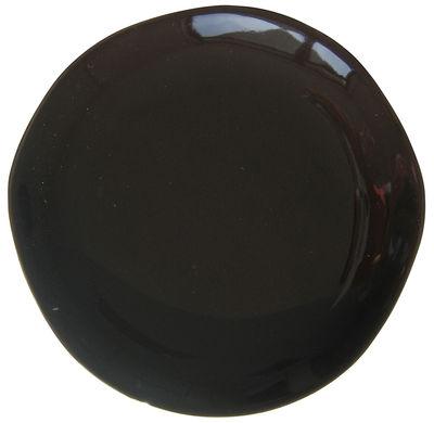 Assiette plate Bazelaire Ø 26 cm - Sentou Edition - noir - Céramique