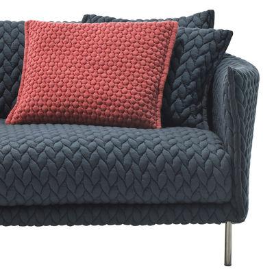 Interni - Cuscini  - Cuscino Gentry - / Tessuto - 45 x 40 cm di Moroso - Rosso - Cotone, Piuma d'oca