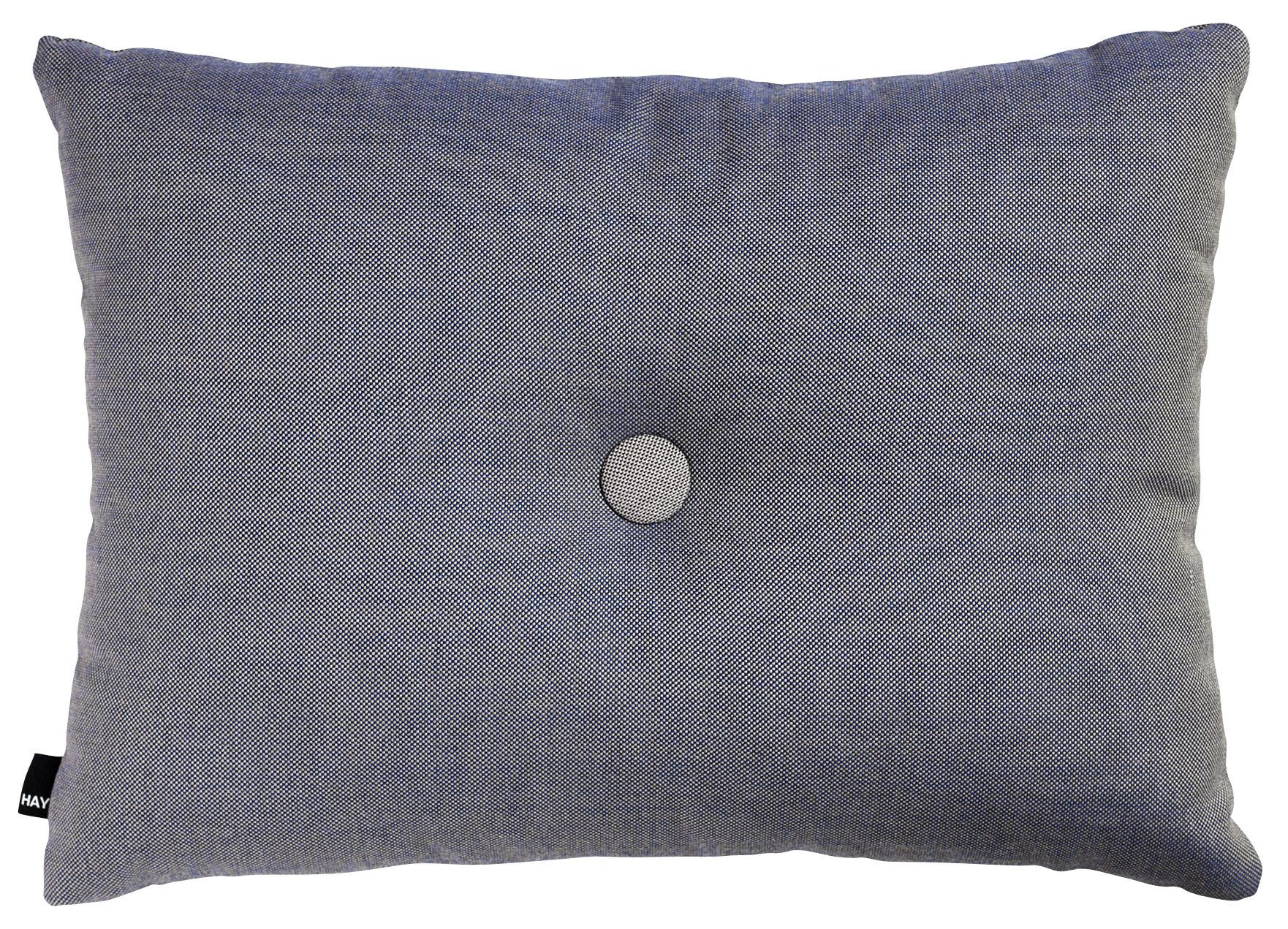 Decoration - Cushions & Poufs - Dot - Surface Cushion - 60 x 45 cm by Hay - Steel blue - Kvadrat fabric