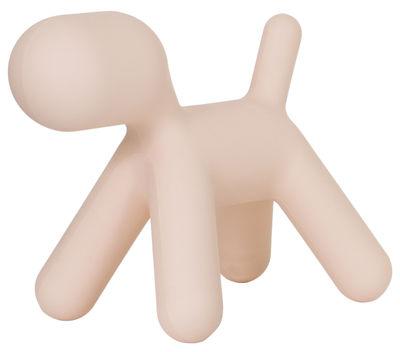 Décoration Puppy XL / L 102 cm - Magis Collection Me Too rose en matière plastique