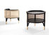 Mos End table - / 50 x 47 cm - Caning & wood by Wiener GTV Design