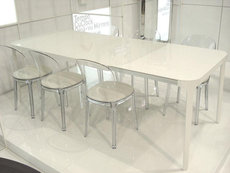 Vanity Chair Gestell Transparent Magis Stuhl