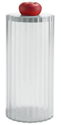 Tischkultur - Boxen und Töpfe - Rigatone hermetisch verschließbares Glas luftdicht - A di Alessi - Eis - thermoplastisches Harz