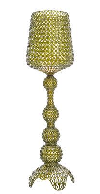 Luminaire - Lampadaires - Lampadaire Kabuki Indoor / LED - Pour l'intérieur - H 165 cm - Kartell - Vert transparent - Technopolymère thermoplastique
