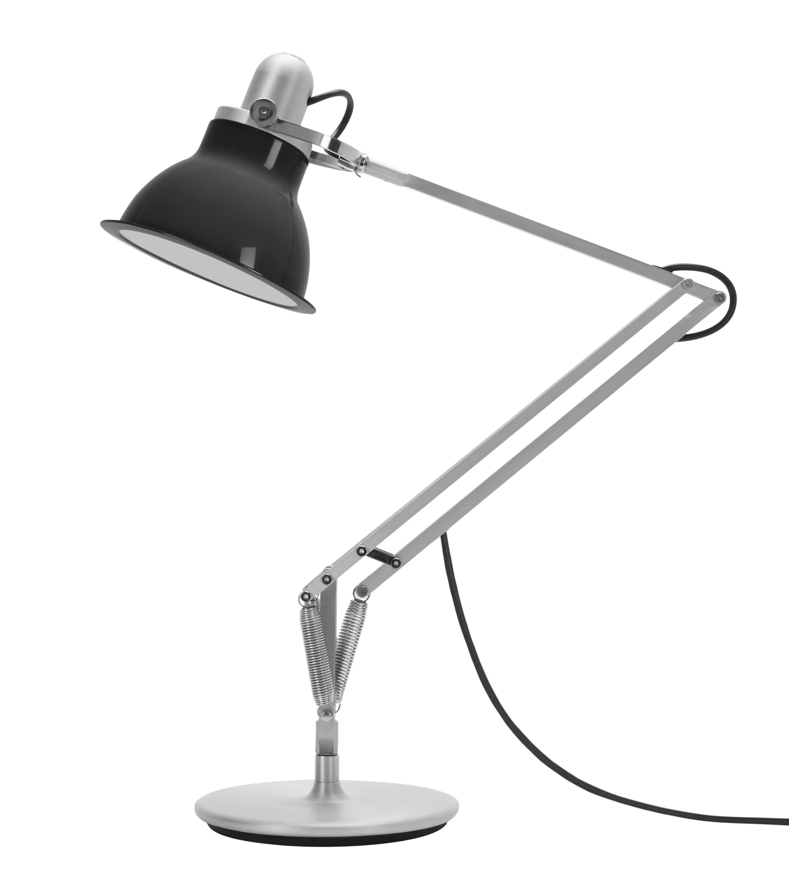 Luminaire - Lampes de table - Lampe de table Type 1228 - Anglepoise - Gris - Aluminium, PVC