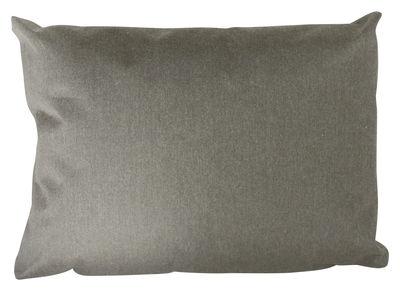Furniture - Poufs & Floor Cushions - Small Outdoor cushion - Outdoor - 60 x 45 cm by Trimm Copenhagen - Gris - Cloth