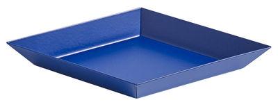 Plateau Kaleido XS / 19 x 11 cm - Hay bleu royal en métal