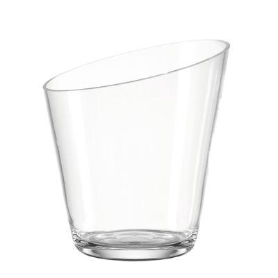 Tavola - Bar, Vino, Aperitivo - Secchiello da champagne - / Vetro - Ø 21 x H 23 cm di Leonardo - Trasparente - Vetro