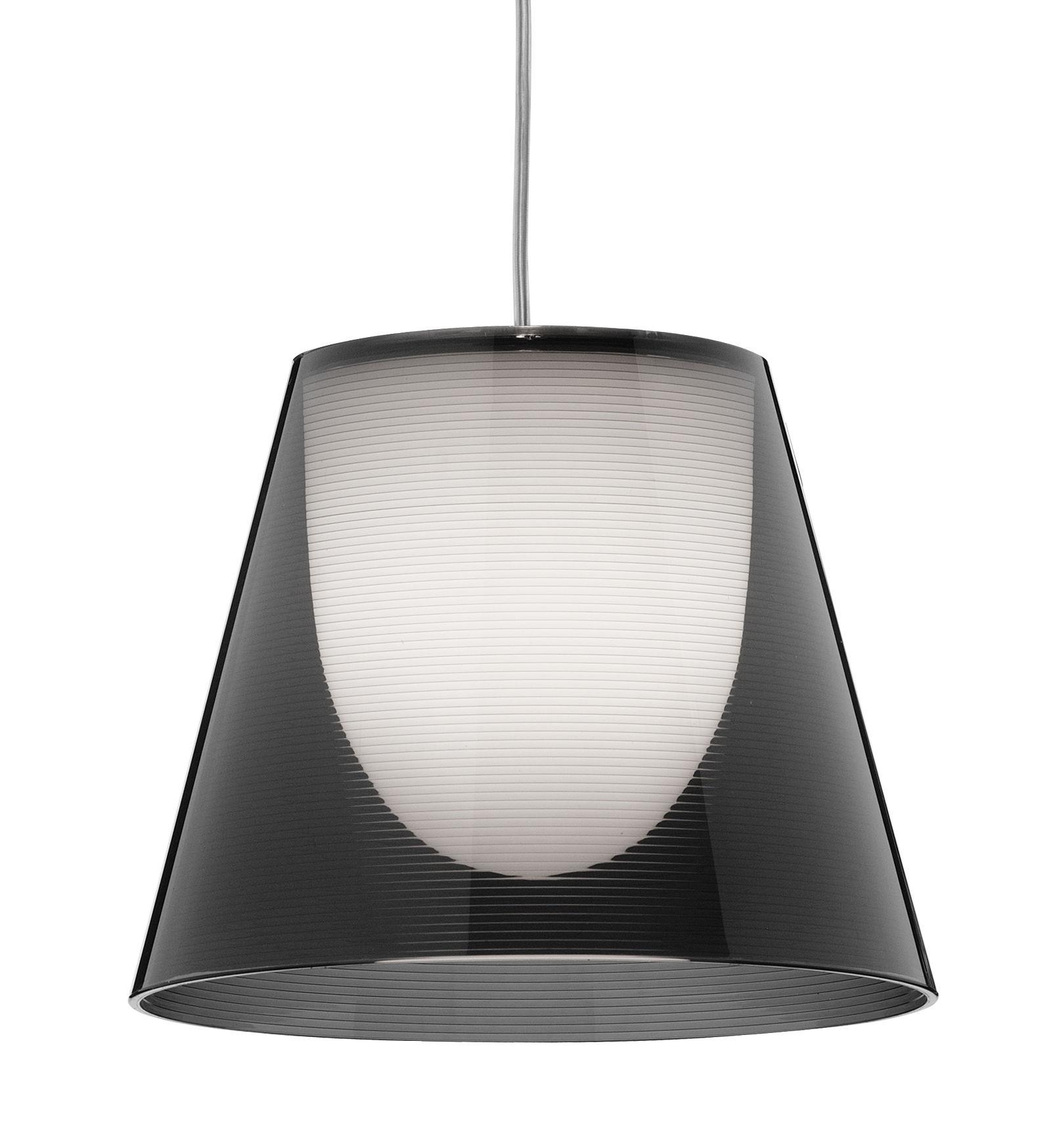 Illuminazione - Lampadari - Sospensione K Tribe S1 - Ø 24 cm di Flos - Fumo - PMMA, policarbonato