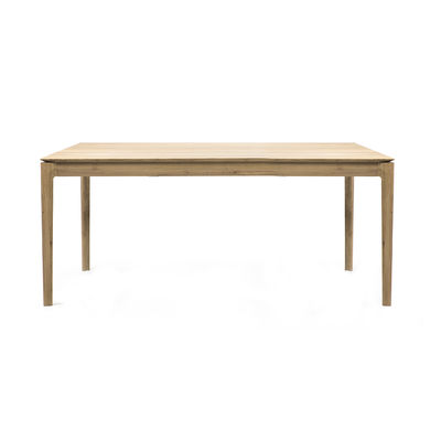 Table à rallonge Bok / Chêne massif - L 160 à 240 cm / 10 personnes - Ethnicraft bois naturel en bois