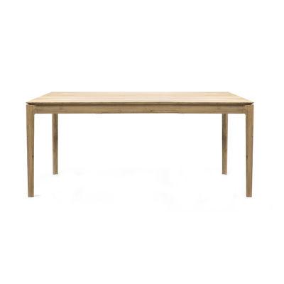 Arredamento - Tavoli - Tavolo con prolunga Bok - / Rovere massello - L 160 a 240 cm / 10 persone di Ethnicraft - 160/240 cm - Rovere - Rovere massello