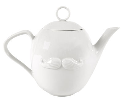 Tableware - Tea & Coffee Accessories - Reversible Teapot by Jonathan Adler - White - China