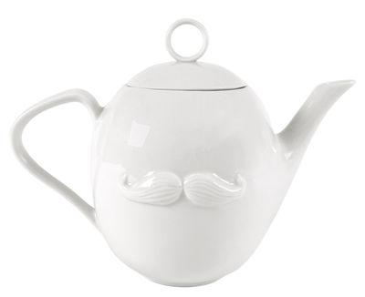 Tischkultur - Tee und Kaffee - Reversible Teekanne - Jonathan Adler - Weiß - Porzellan