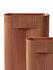 Vase Ridge Large / H 48 cm - Terre cuite - Muuto