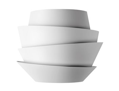 Lighting - Wall Lights - Le Soleil Wall light by Foscarini - White - Polycarbonate