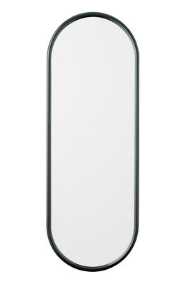 Decoration - Mirrors - Angui Wall mirror - / L 39 x H 108 cm by AYTM - Forest green - Glass, Lacquered iron