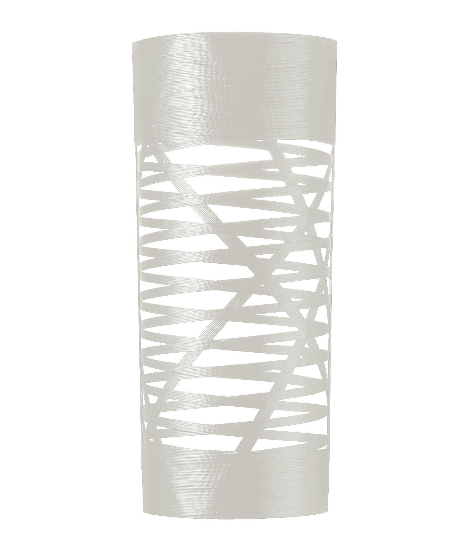 Leuchten - Wandleuchten - Tress Wandleuchte H 59 cm - Foscarini - Weiß - Glasfaser, Verbund-Werkstoffe