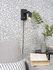Applique con presa Zurich LED - / Luce da lettura orientabile - Metallo di It's about Romi