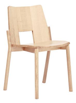 Mobilier - Chaises, fauteuils de salle à manger - Chaise empilable Tronco / Bois - Mattiazzi - Frêne - Frêne naturel