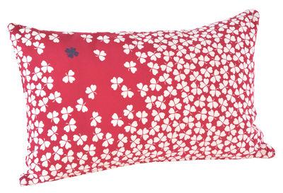 Coussin d´extérieur Trèfle / 68x44 cm - Fermob groseille en tissu