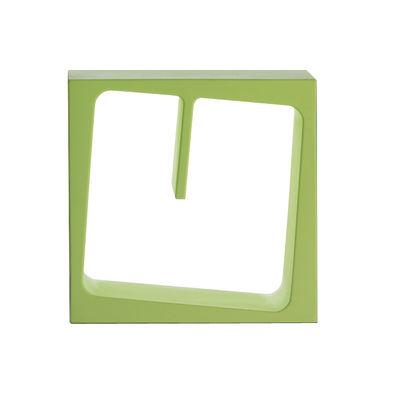 Etagère Quby modulable - B-LINE vert en matière plastique