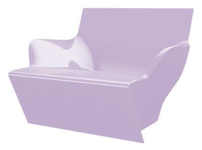 Chaise Kami San version laquée - Slide laqué lavande en matière plastique