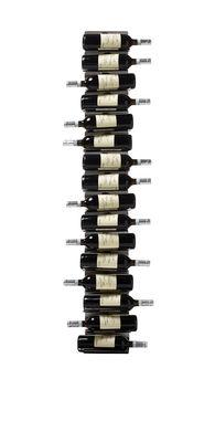 Tischkultur - Bar, Wein und Apéritif - Ptolomeo Vino Flaschenhalter / Wandregal - H 150 cm - Opinion Ciatti - Edelstahl - rostfreier Stahl