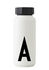 Arne Jacobsen Insulated bottle - / 500 ml - Letter A by Design Letters