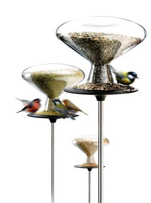 Jardin - Déco et accessoires de jardin - Mangeoire à oiseaux - Eva Solo - 5 litres - Acier inoxydable poli, Caoutchouc, Verre