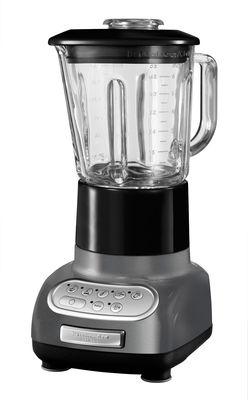 Cuisine - Electroménager - Mixeur Artisan - KitchenAid - Gris métallisé - Acier inoxydable, Métal coulé, Verre