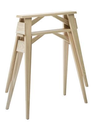 Paire de tréteaux Arco - Design House Stockholm frêne naturel en bois