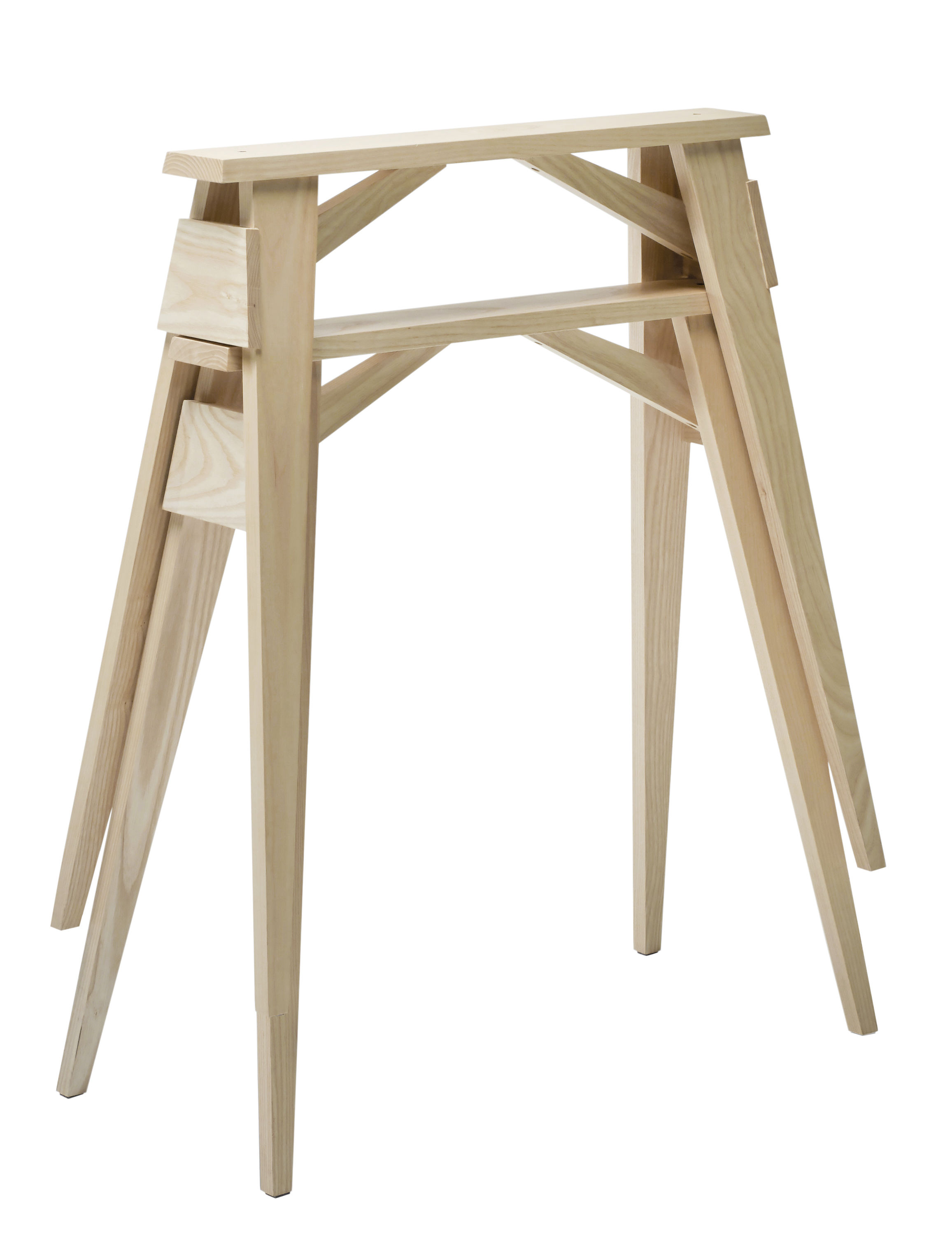 Mobilier - Bureaux - Paire de tréteaux Arco - Design House Stockholm - Frêne naturel - Frêne