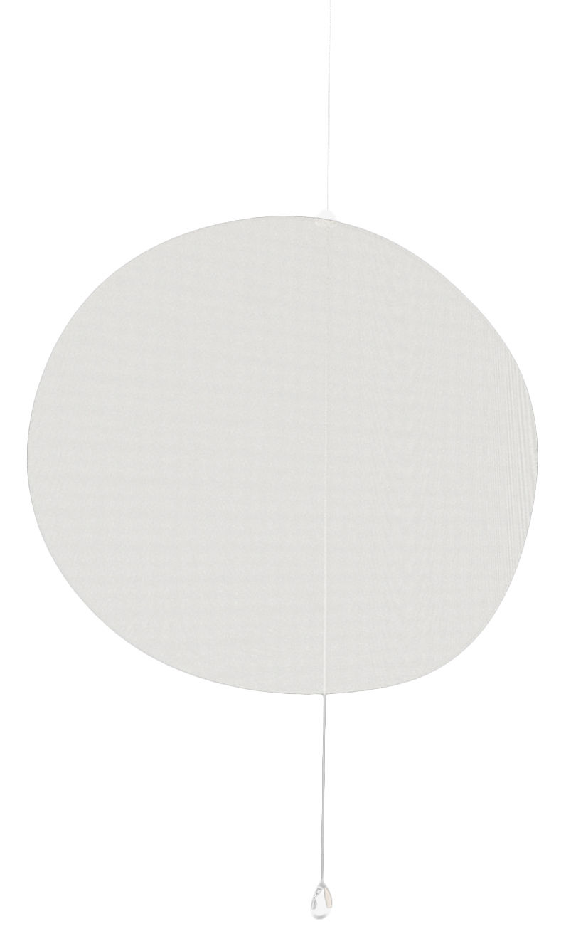 Arredamento - Separè, Paraventi... - Paravento/divisorio Mobileshadows - Nimbo - Opaco di Smarin - 56 x 54 cm - Opaco - Acciaio, Seta