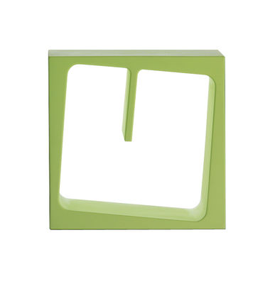 Furniture - Bookcases & Bookshelves - Quby Shelf - Modular by B-LINE - Pastel green - Polythene