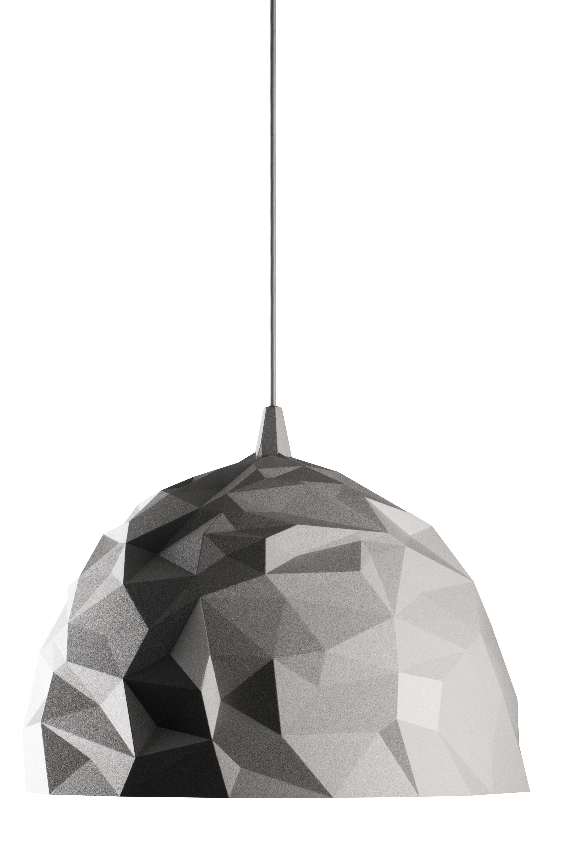 Luminaire - Suspensions - Suspension Rock - Diesel with Foscarini - Blanc - Polycarbonate