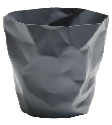 Accessories - Desk & Office Accessories - Bin Bin Basket - H 31 x Ø 33 cm by Essey - Graphite grey - Polythene