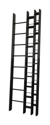 Bibliothèque Hô / L 64 x H 240 cm - La Corbeille noir en bois