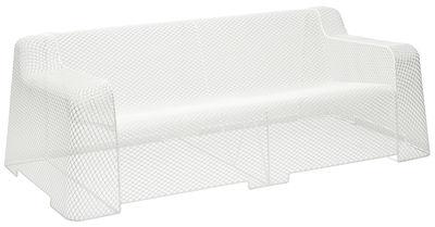Outdoor - Canapés - Canapé droit Ivy / L 192 cm - Emu - Blanc - Acier