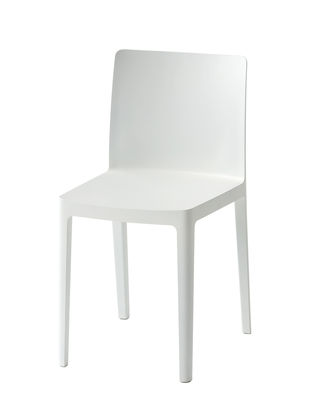 Furniture - Chairs - Elementaire Chair by Hay - Blanc crème - Fibreglass, Polypropylene