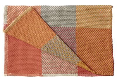 Plaid Loom /130 x 180 cm - Muuto mandarine en tissu