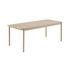 Linear WOOD Rectangular table - / Wood - 200 x 90 cm by Muuto